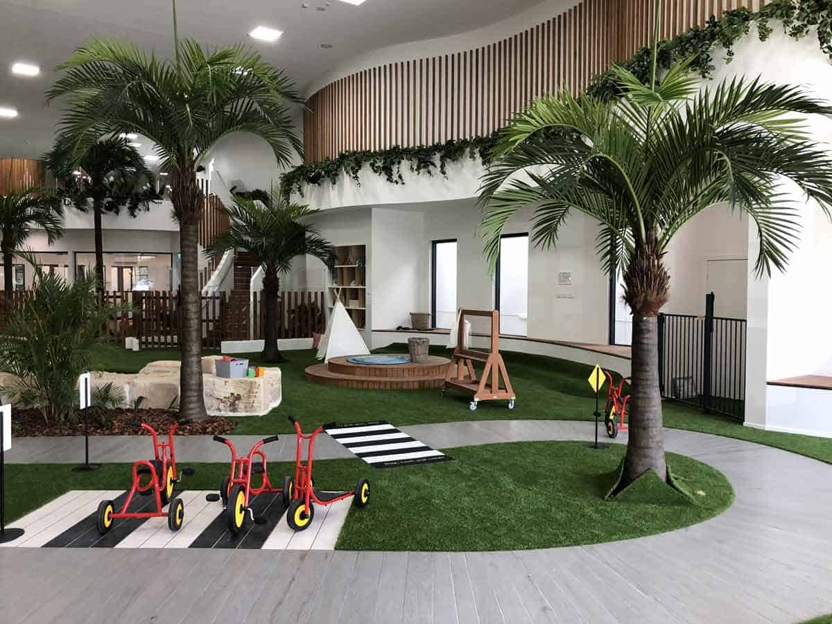 Artificial Gardens for Sunkids Daycare Centre