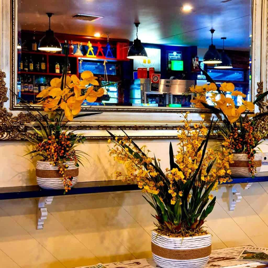 Artificial Plants at Kelly's Irish Pub
