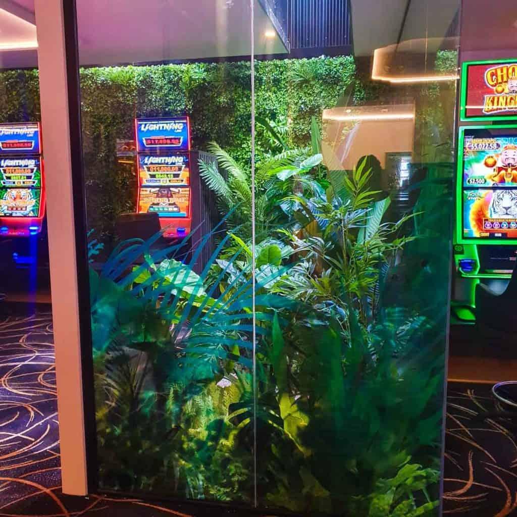 Artificial Plants at Port Macquarie Hotel